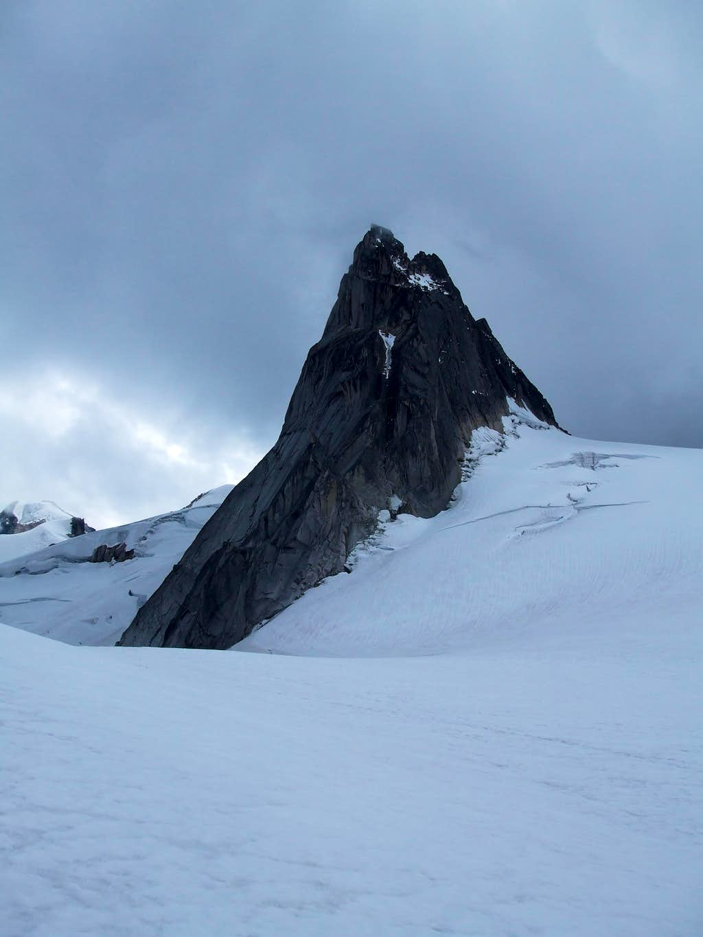 Pigeon Spire from Snowpatch/Bugaboo Col