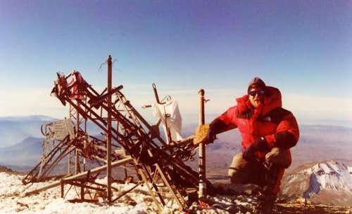 "Next to the summit ""junk..."