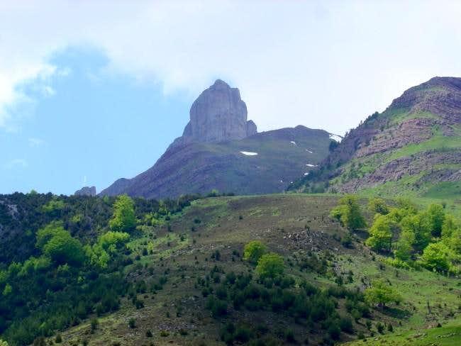 The east face of Chipeta Alto...