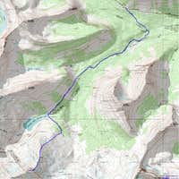 Northeast Ridge Route - Topo
