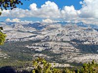 Cathedral Range from Tuolumne Peak