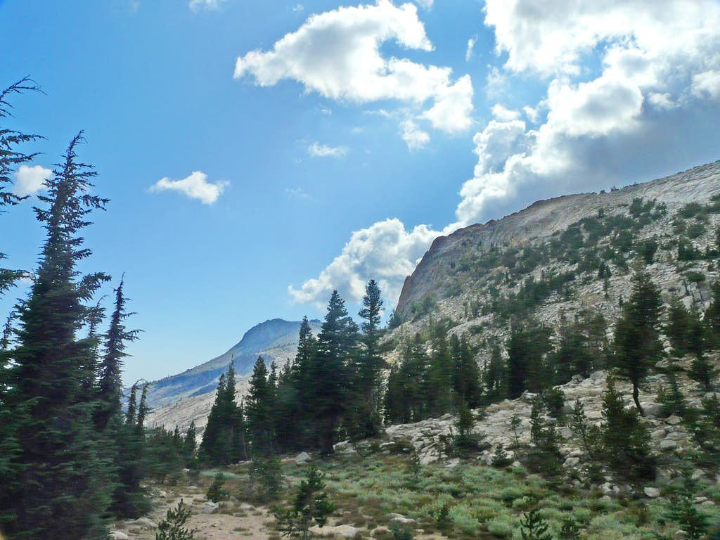 Below Mt. Hoffman
