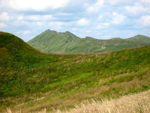 Mount Krzemien (1335 m)