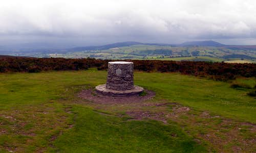 The Long Mynd - Pole Bank summit