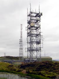 Brown Clee Hill - Abdon Burf radio towers