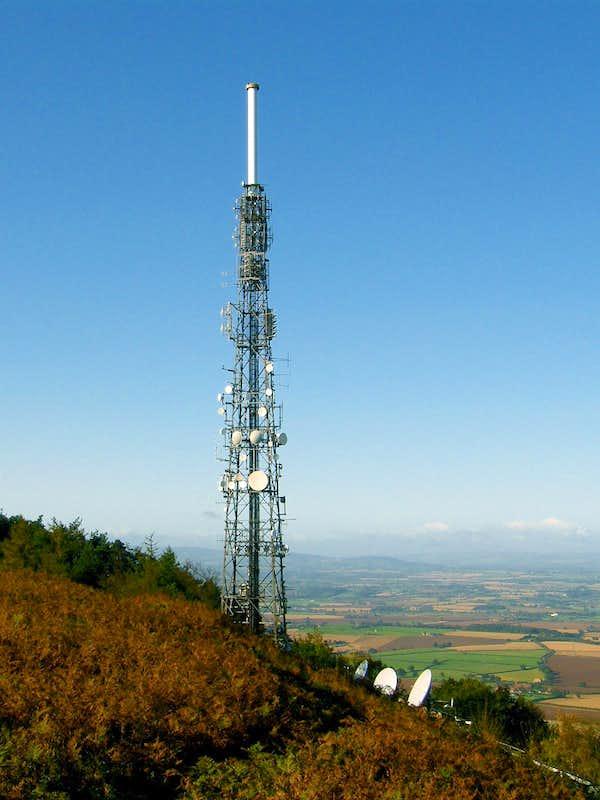 The Wrekin TV Transmitter Tower Photos Diagrams Amp Topos