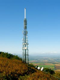 The Wrekin TV-Transmitter tower