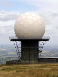 Titterstone Clee Hill - Air Traffic Radar