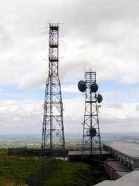 Titterstone Clee Hill - Air Traffic TX radio station