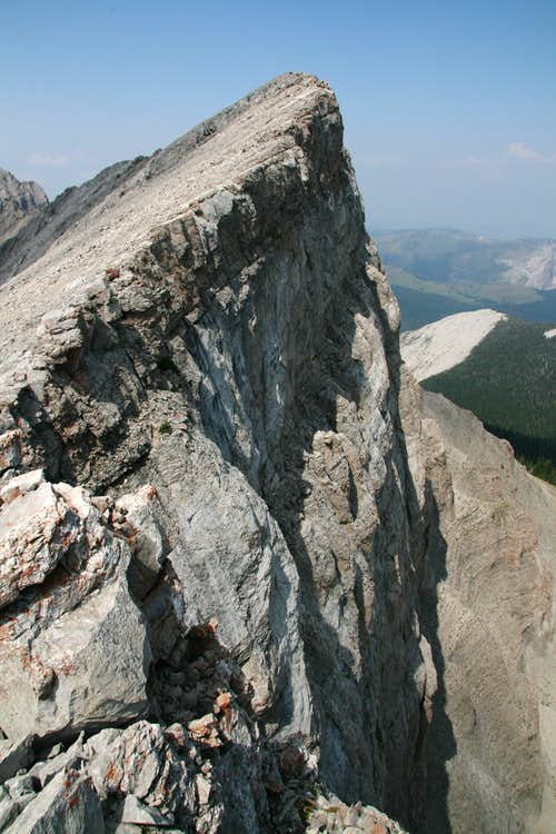 The Exposed South Ridge