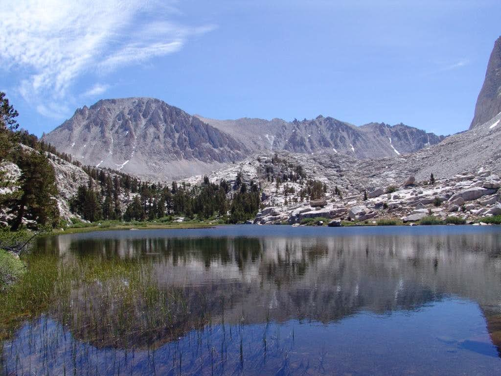 Mt. Whitney from Timberline Lake_11100ft