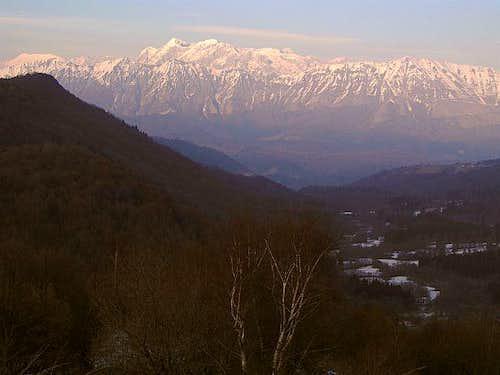 Kanin/Canin massif from...