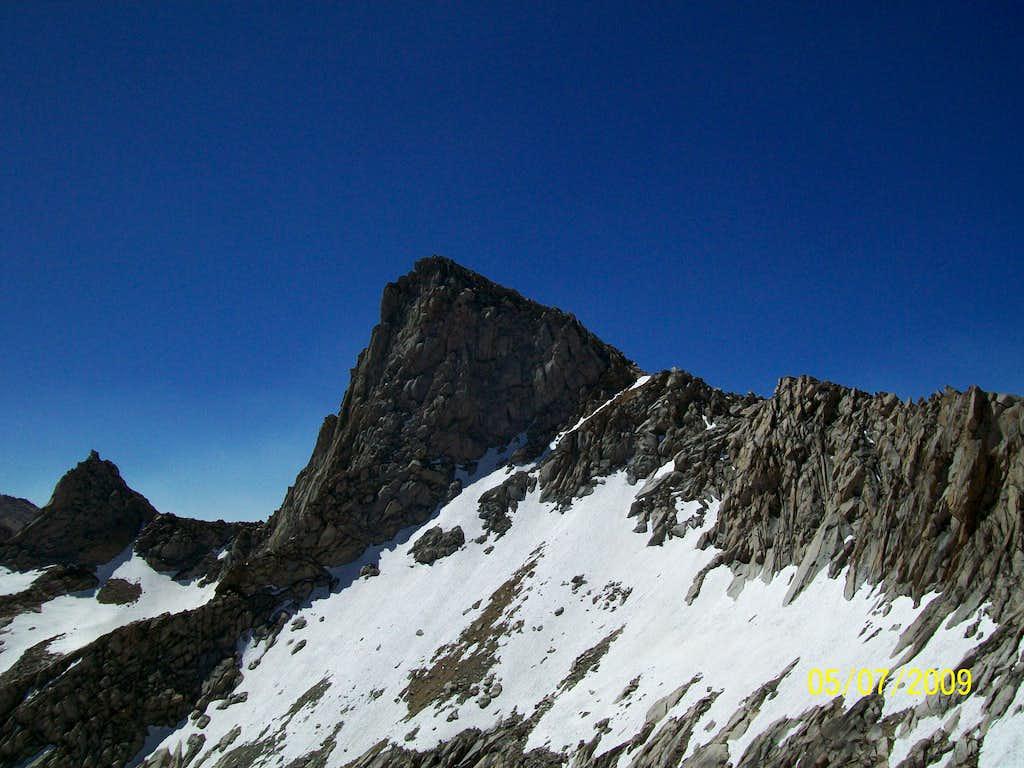 Sawtooth Peak and its ridge
