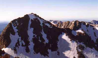Windom from the summit of...