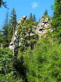 Rocks by Czarna brook