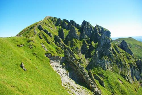 Puy de Sancy (1886m)