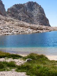 Miter and nameless lake