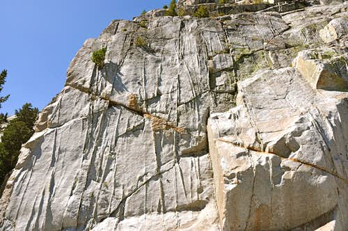 Dike Wall, north face