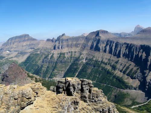 Mountains of Logan Pass