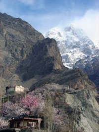 Baltit Fort and Ulter Peak 7388-M  Hunza Pakistan
