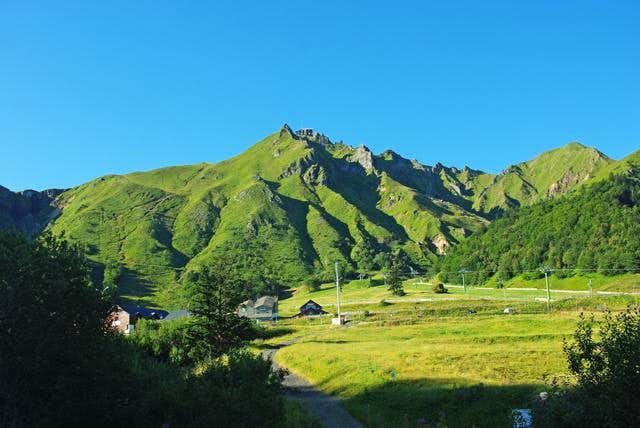Puy de Sancy and Puy Redon