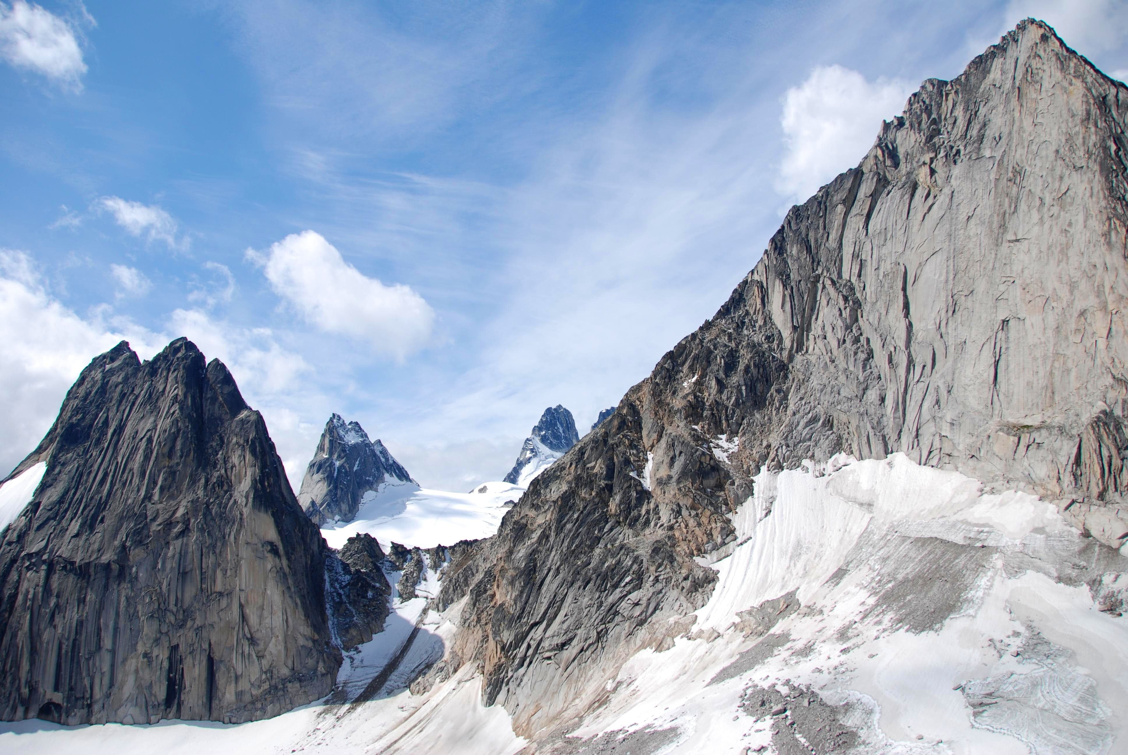 Pigeon Spire with Rime Ice, Bugaboos BC