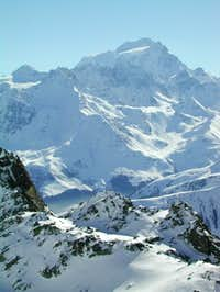 Grand Combin seen from near...