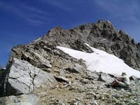 SW Couloir from Saddle