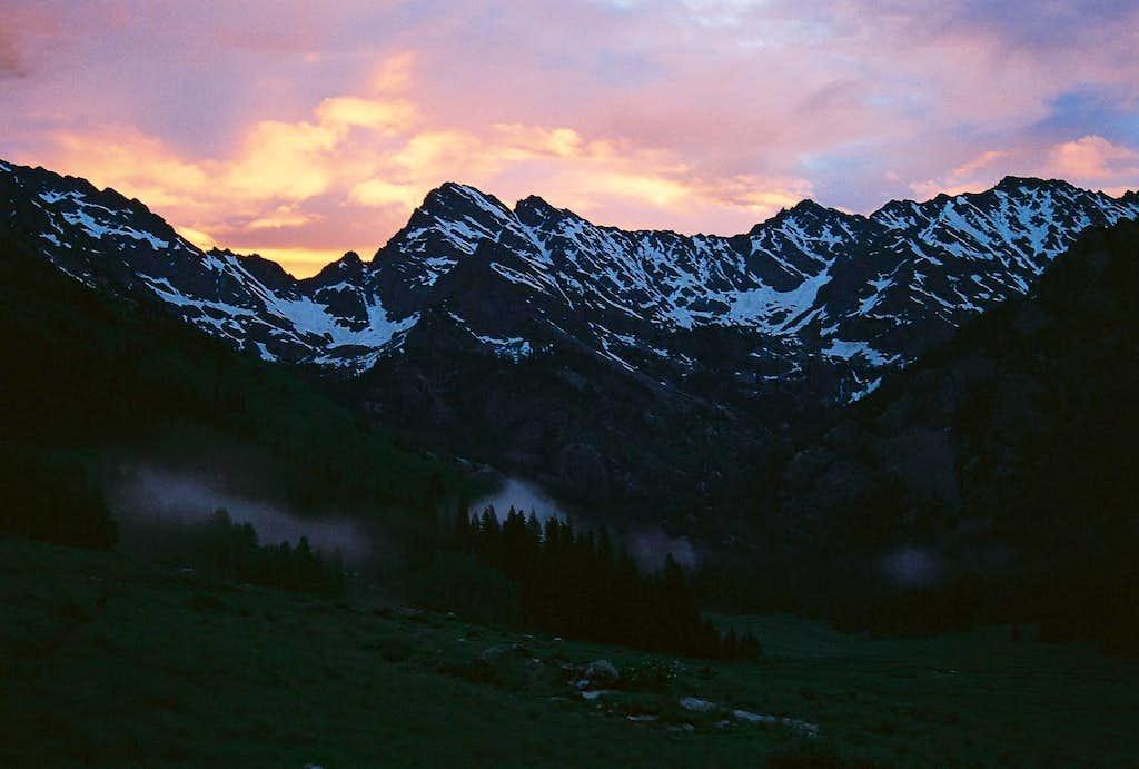 Peak C at Sunrise
