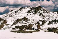 Bison Peak Summit Plateau