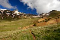 Wetterhorn and Matterhorn from Matterhorn Creek Trail