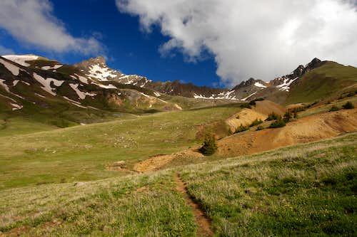 Wetterhorn and Matterhorn Peaks