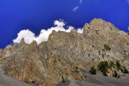 USGS Peak Pinnacles