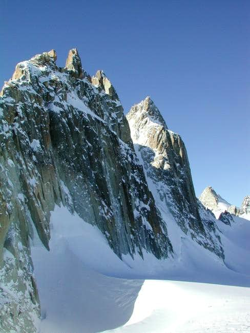 N. side of the Aiguilles...