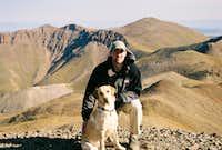 Floyd and Me on San Luis Peak