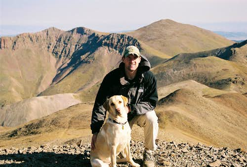 Floyd and Me on San Luis Peak