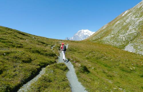 Hiking in Val Ferret