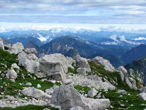 Summit of Rombon