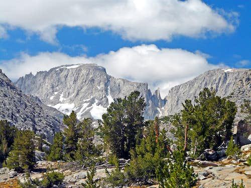 Mt. Abbott and Mt. Mills