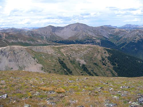 View of Peak 13198 ft & Mountain Boy Park