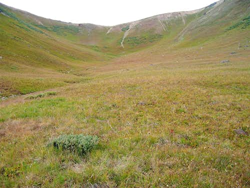 Grassy Slopes/Bowl/12420 ft Saddle