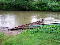 Transportation up river