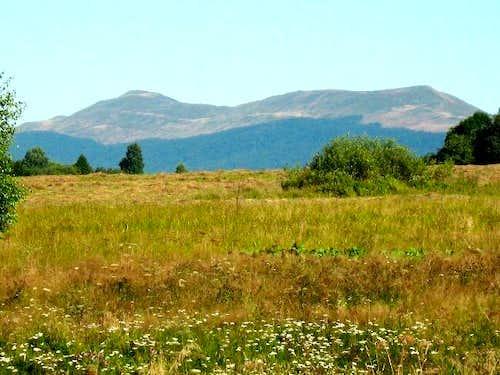 Mount Carynska Polonina (1297 m )