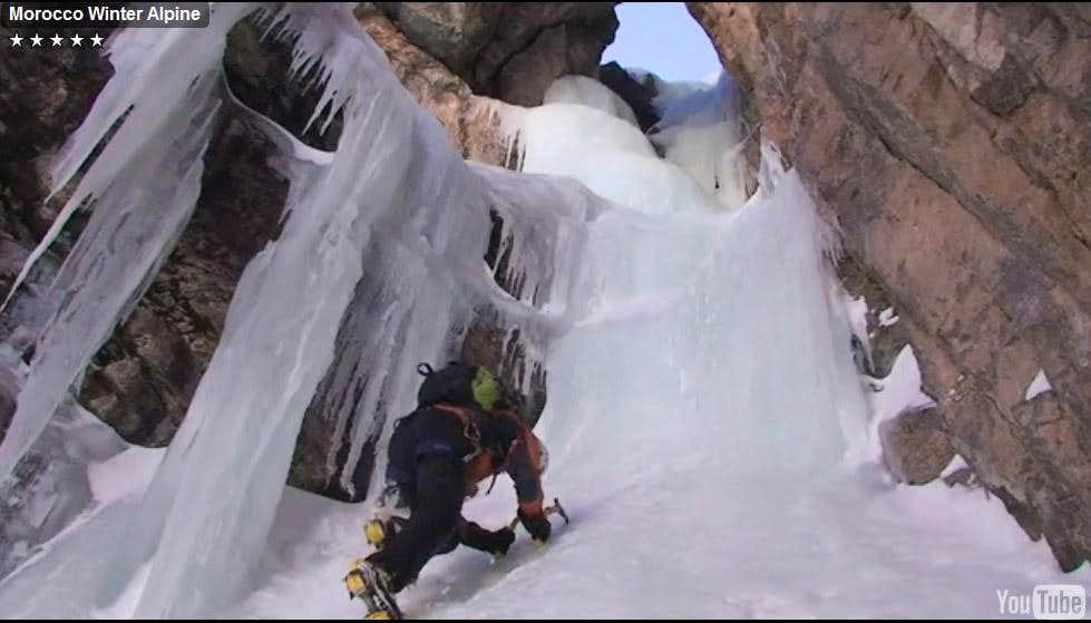 Ice and Mixed Climbing in Morocco