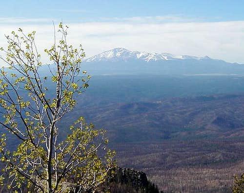 The twenty-four mile view of...