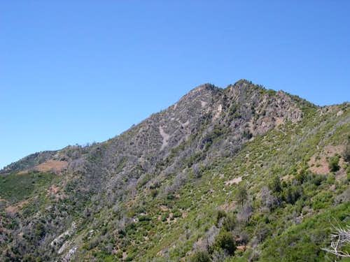 View of Cone Peak from about...