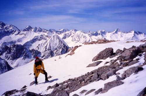 South Ridge of Gould - March...