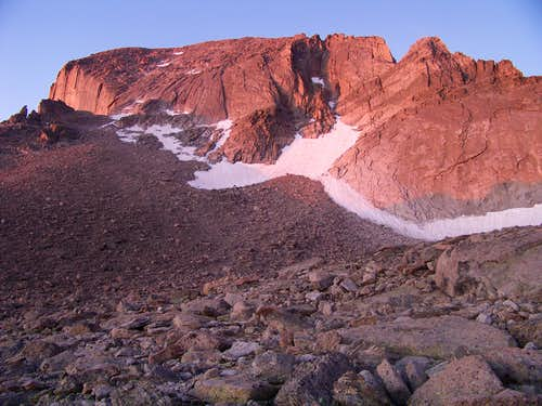 Sunrise on Longs Peak