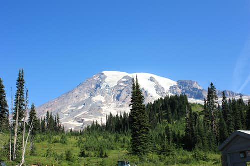 Mt. Rainier - Seen from Paradise