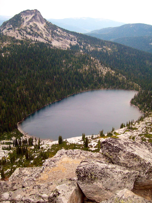 Harrison Lake and Peak